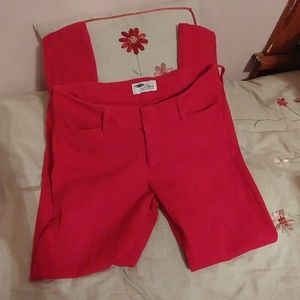 """Old navy Red """"diva"""" pants"""